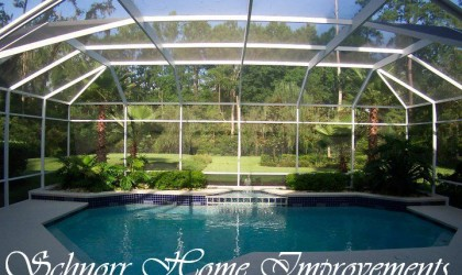 Pool Enclosures and Screen Roofs