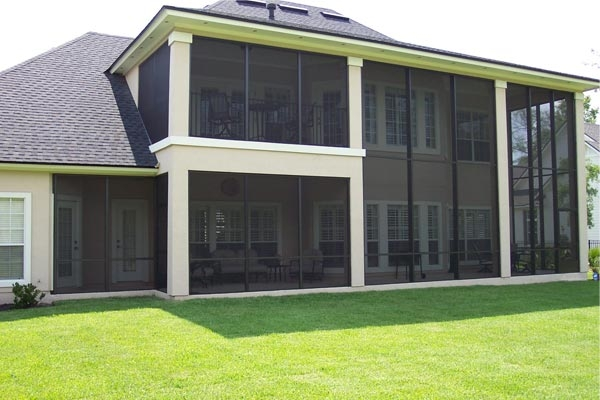 Glass Walls In Existing Lanai Jacksonville Sunrooms